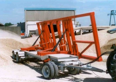 Kantelwagen prefab beton